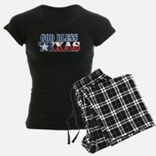 God Bless Texas Pajamas
