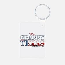 My Granny in TX Keychains