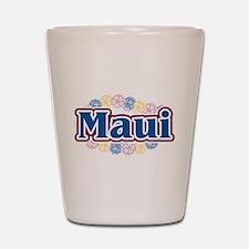 Hawaii - flowers Shot Glass