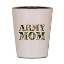 Army Mom Shot Glass