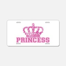 Crown Princess Aluminum License Plate