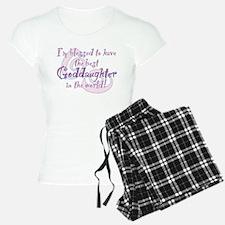 Blessed Goddaughter Pajamas