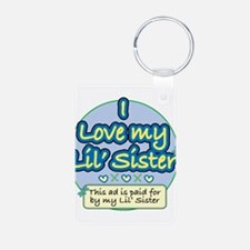 Cute New sister Keychains