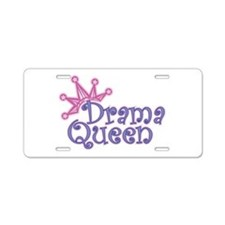 Drama Queen Aluminum License Plate