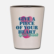 Piece of your heart Shot Glass
