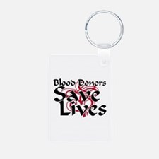 Blood Donors Save Lives Keychains