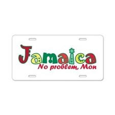 Jamaica No Problem Aluminum License Plate