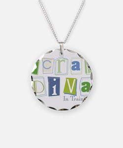 Scrap Diva (IT) Blue Necklace