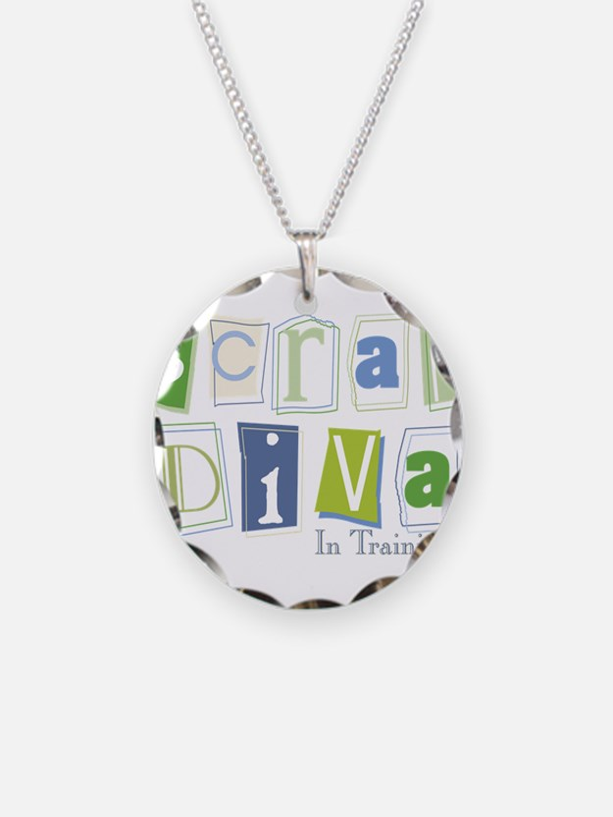 Scrap Diva (IT) Blue Necklace