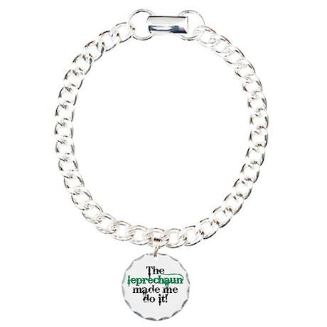 Leprechaun made me bc Charm Bracelet, One Charm