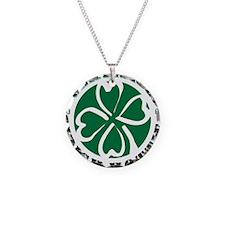 Certified Irish Hottie Necklace Circle Charm