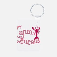 Cajun Wineaux crawfish Keychains