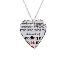 Coding Geek! Necklace