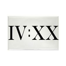 IV:XX Rectangle Magnet