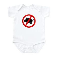 Pig - Swine flu Infant Bodysuit