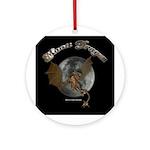 Moon Dragon Ornament (Round)