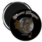 Moon Dragon Magnet