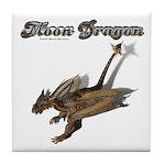 Moon Dragon Tile Coaster