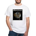 Moon Dragon White T-Shirt