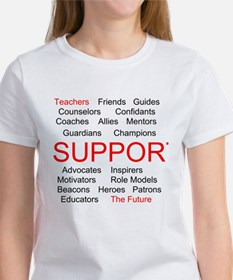 Support Teachers, Support the Future Tee