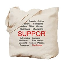 Support Teachers, Support the Future Tote Bag