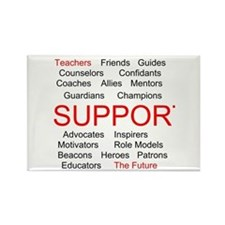 Support Teachers, Support the Future Rectangle Mag