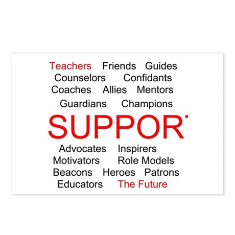 Support Teachers, Support the Future Postcards (Pa