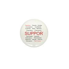 Support Teachers, Support the Future Mini Button (