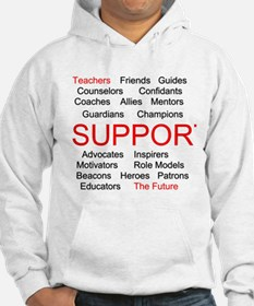 Support Teachers, Support the Future Hoodie