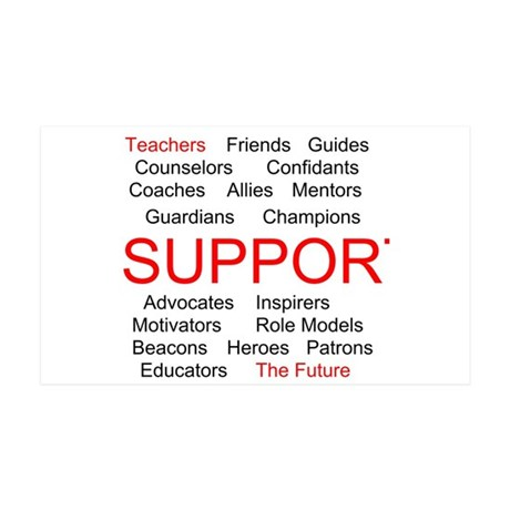 Support Teachers, Support the Future 38.5 x 24.5 W