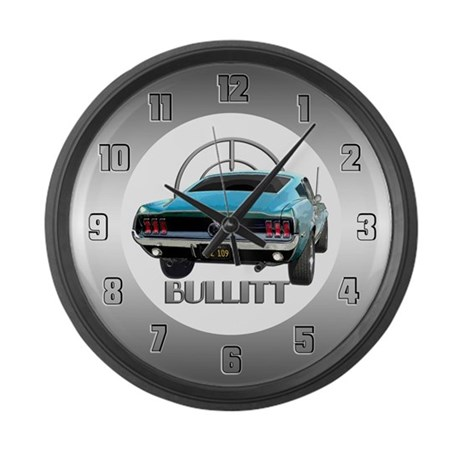 BULLITT JZZ 109 Large Wall Clock