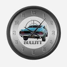 BULLITT JZZ 109 Large Wall Clock