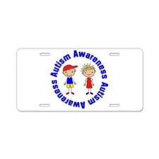 Autism Awareness Stick Kids License Plate