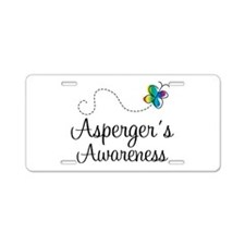 Asperger's Awareness Logo License Plate