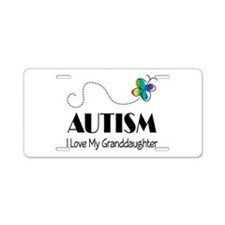 Autism I Love My Granddaughter License Plate
