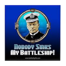 Battleship... Tile Coaster
