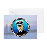 Battleships card Greeting Cards