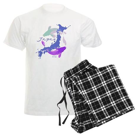 YIN & YANG FISH Men's Light Pajamas