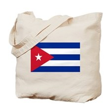 Cuban Flag Tote Bag