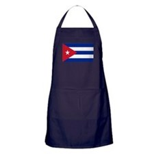 Cuban Flag Apron (dark)