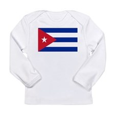 Cuban Flag Long Sleeve Infant T-Shirt