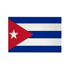 Cuban Flag Rectangle Magnet