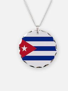 Cuban Flag Necklace
