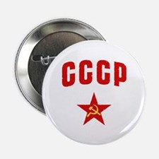 Hammer and Sickle CCCP Star Button