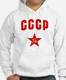 Hammer and Sickle CCCP Star Hoodie