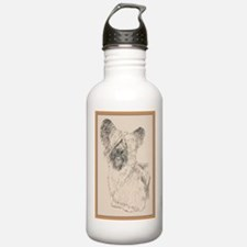 Skye Terrier Sports Water Bottle