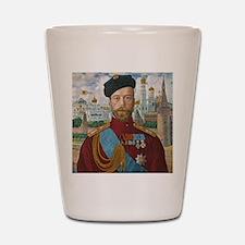Tsar Nicholas II Shot Glass