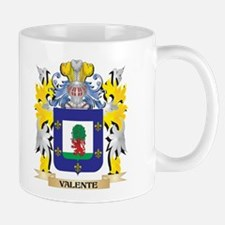 Valente Family Crest - Coat of Arms Mugs