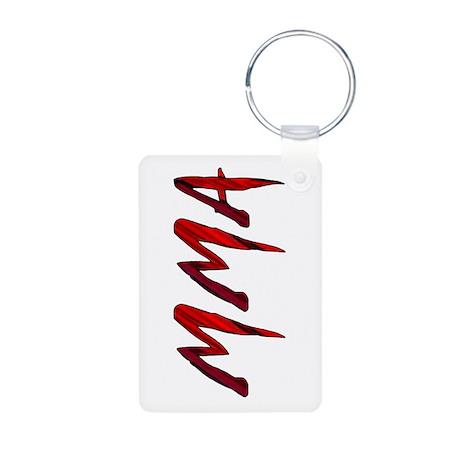MMA Aluminum Photo Keychain