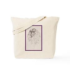 King Charles English Toy Spaniel Tote Bag